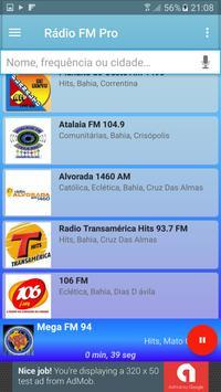 Rádio FM Pro Grátis screenshot 4