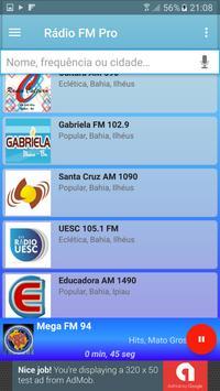 Rádio FM Pro Grátis screenshot 5
