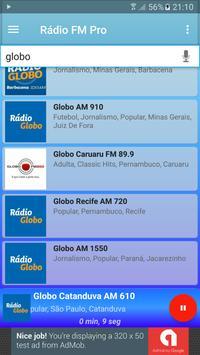 Rádio FM Pro Grátis screenshot 8
