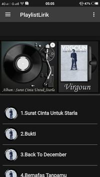 Virgoun Musik dan Lirik poster