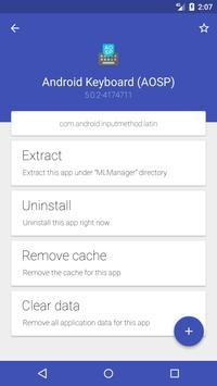 Apps Manager - Application Backup apk screenshot