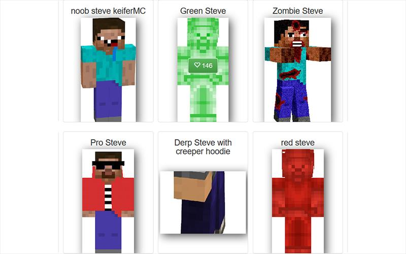 Skin Steve For Minecraft For Android Apk Download