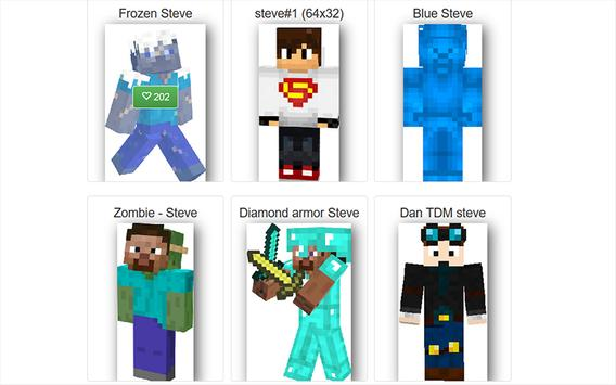 Skin Steve For Minecraft For Android APK Download - Skin para minecraft pe frozen