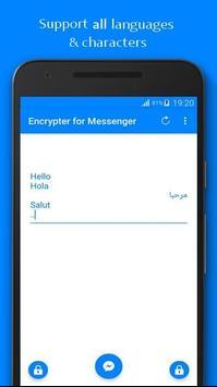 Encrypter for Messenger screenshot 3
