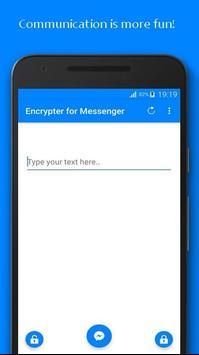 Encrypter for Messenger poster