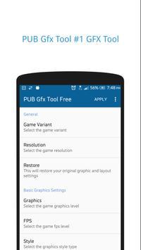 PUB Gfx Tool Free(NO BAN)🔧 1080p HDR 60FPS 4xMSAA पोस्टर