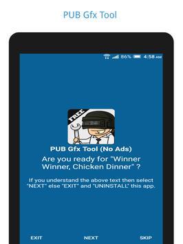 PUB Gfx Tool Free(NO BAN)🔧 1080p HDR 60FPS 4xMSAA स्क्रीनशॉट 5