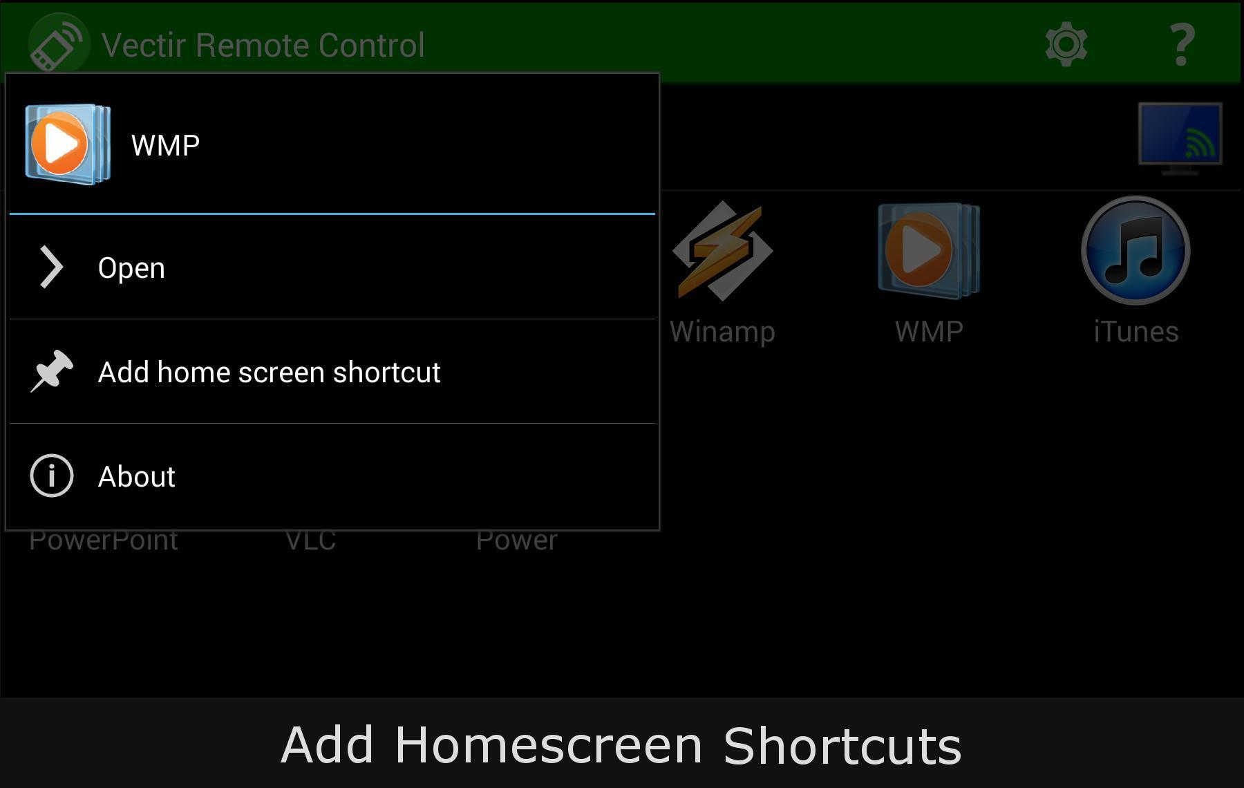 Vectir PC Remote Control for Android - APK Download