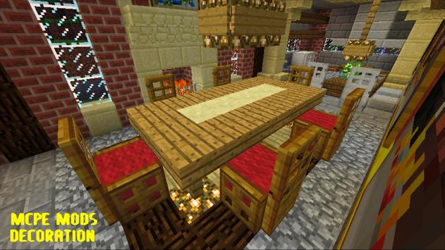 Decoration Mod for McPE poster