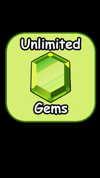 Unlimited Gems for COC Prank screenshot 1