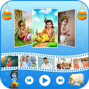 Janmashtami Movie Maker :Krishna Photo Video Maker-APK