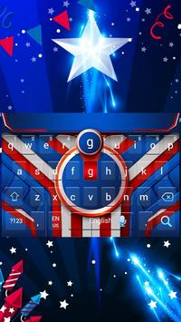 Independence Day Keyboard Theme poster