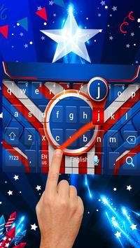 Independence Day Keyboard Theme apk screenshot