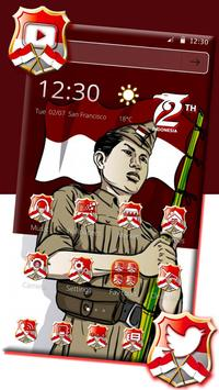 Indonesia Independence Day Theme apk screenshot