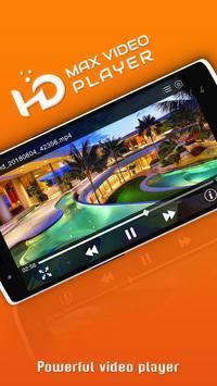 HD Video Player : HD MAX Video Player screenshot 1