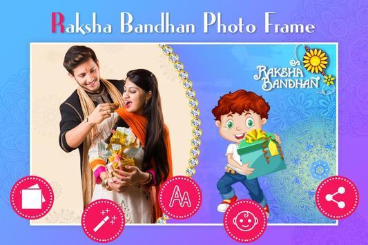 Rakshabandhan Photo Frame-poster