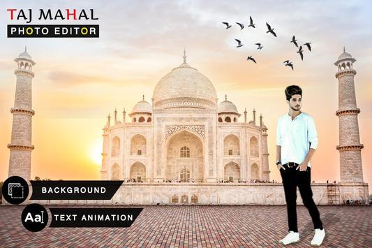 Taj Mahal Photo Frames : Photo Editor-poster