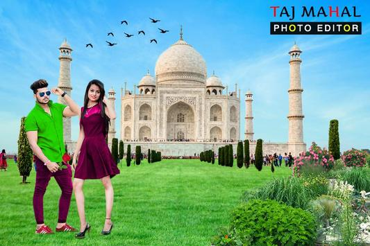 Taj Mahal Photo Frames : Photo Editor screenshot 1