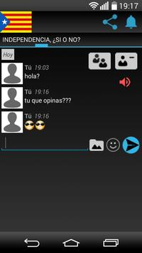 Independencia Cataluña CHAT screenshot 1