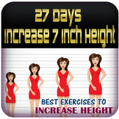 27 Days Increase 7 Inch Height icon