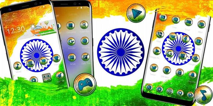 India Independence Day Theme apk screenshot