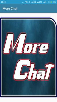 More Chat poster