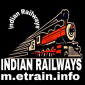 Indian Railways m.etrain@info icon