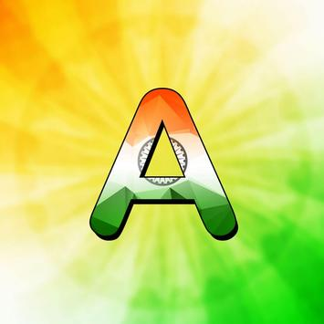 Indian Flag Letter apk screenshot