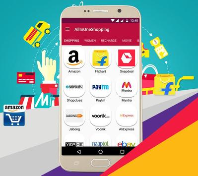 All in One Shopping Online poster