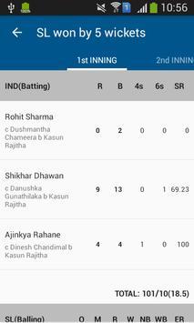 Cricket Mania : Cricket Scores screenshot 2