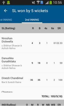 Cricket Mania : Cricket Scores screenshot 3