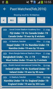 Cricket Mania : Cricket Scores screenshot 1