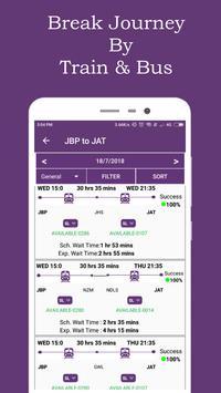 Break Journey Planner,Live Train Status,PNR status screenshot 1