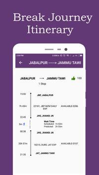 Break Journey Planner,Live Train Status,PNR status screenshot 2