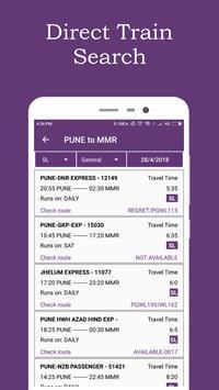 Break Journey Planner,Live Train Status,PNR status screenshot 3