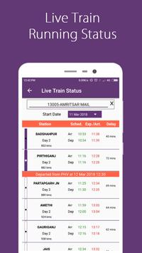 Break Journey Planner,Live Train Status,PNR status screenshot 4