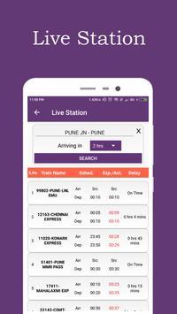 Break Journey Planner,Live Train Status,PNR status screenshot 6