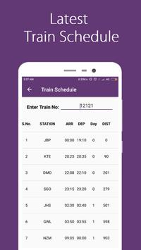 Break Journey Planner,Live Train Status,PNR status screenshot 7