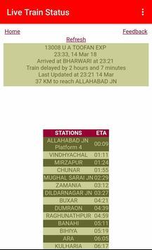 Live Train Status poster