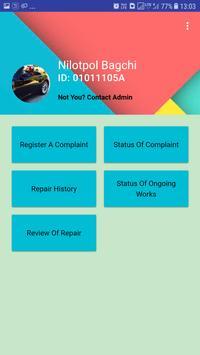 Quarter Maintenance System (Howrah Division) screenshot 1