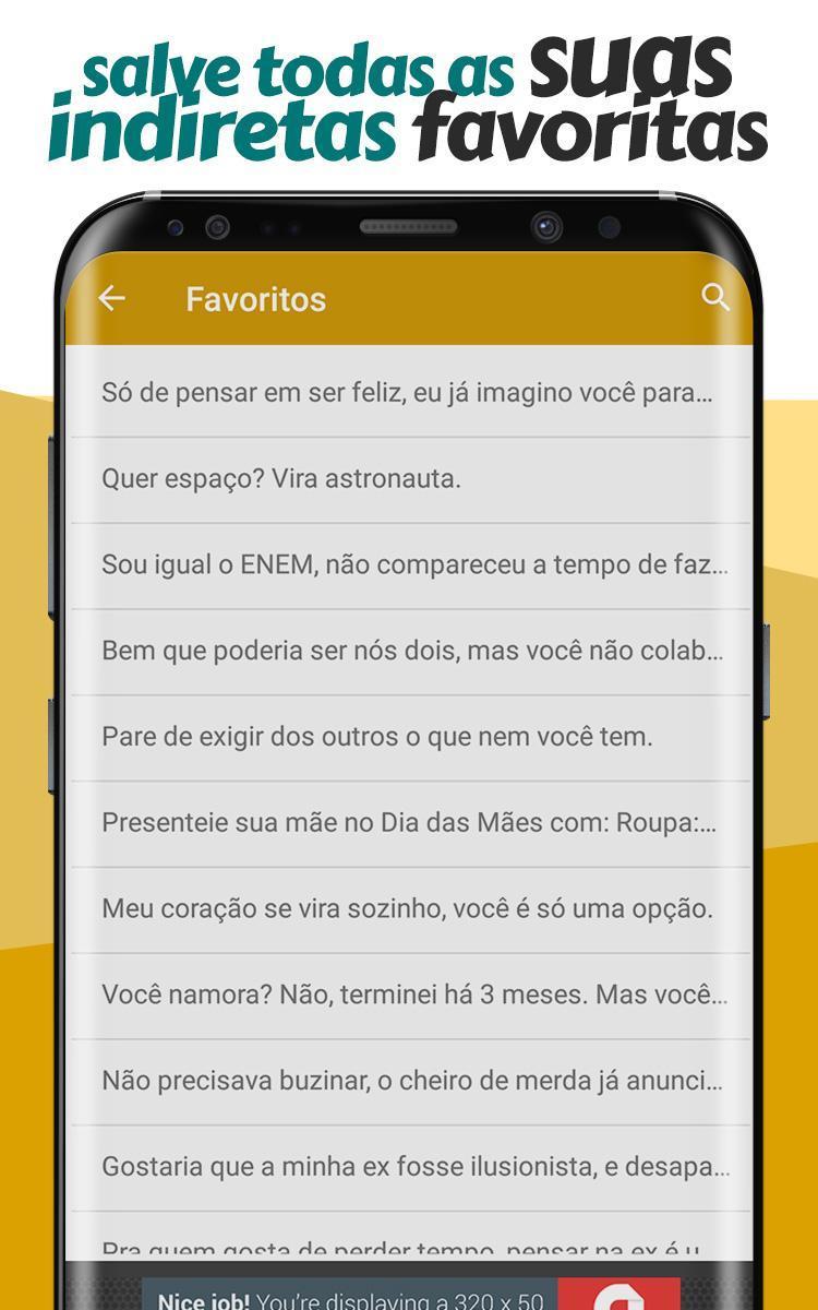 Frases De Indiretas Prontas Para Compartilhar Para Android