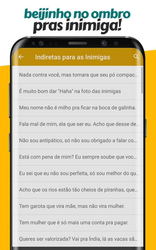 Frases De Indiretas Prontas Para Compartilhar For Android Apk