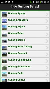 Indo Gunung Berapi screenshot 1