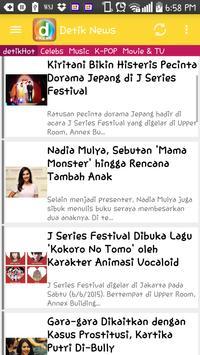 Detik Com apk screenshot