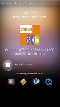 BIMANTARA 96.4 BUKIT TINGGI screenshot 3