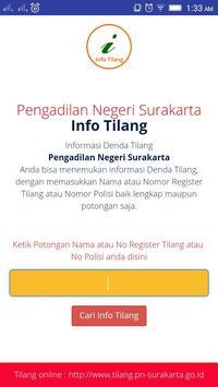 Info Tilang PN Surakarta poster