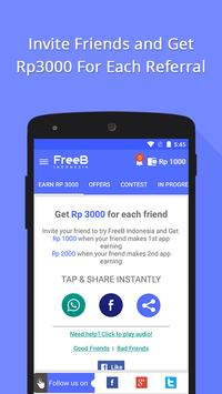 FreeB Indonesia apk screenshot