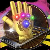 3D Golden Gauntlet Theme icon