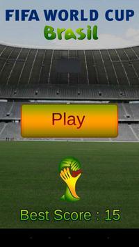 Soccer World Cup Dribbler 2014 poster