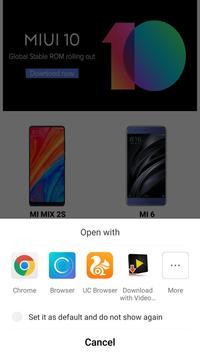 MIUI 10 Stable Updates Download screenshot 5